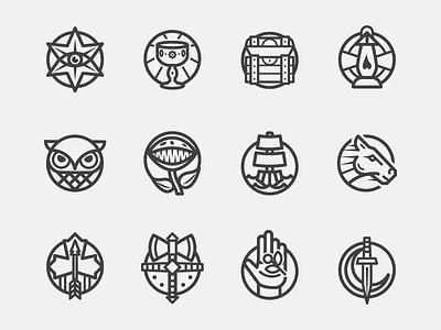 Epoch Icons icon set icons epoch analog games
