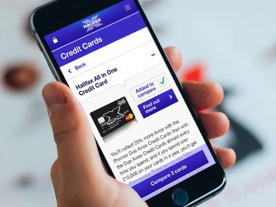 Card Comparison Pattern debit cards credit cards product comparison pattern banking lloyds halifax lloyds banking group