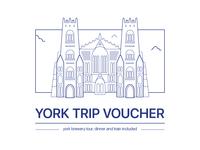 York Trip Voucher