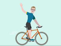 Cycling Luke