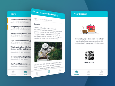 Meadow Well Connected news cafe app foundation charity sage