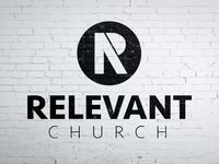 Relevant Church Logo design church logo logo church branding branding simple design logo design