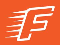 Final Surge Logo sports simple design branding logo logo design