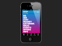 Discover Ireland App Menu