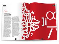 Helvetica Magazine Spread