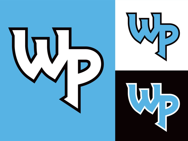 Warner Pacific Knights Athletic Identity Part I - Monogram font design medieval knights oregon portland warner pacific sports logo sports branding athletic branding monogram logo design logo identity design identity branding design branding