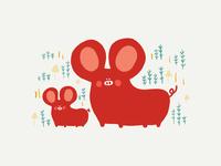 Bacon Piggy Mouse