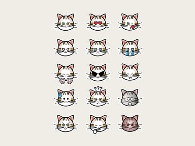 Cat emoticons -2