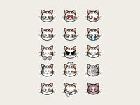 Cat emoticons -2