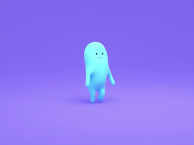 Character Intro cloners plants character c4d animation design 3d