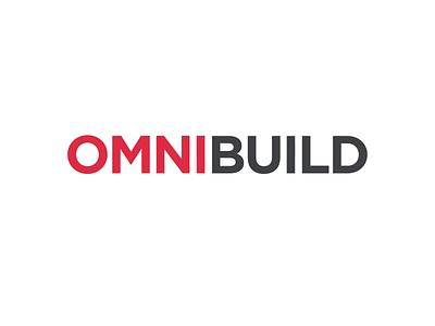 Omnibuild logo construction animation motion typography branding logo design logo