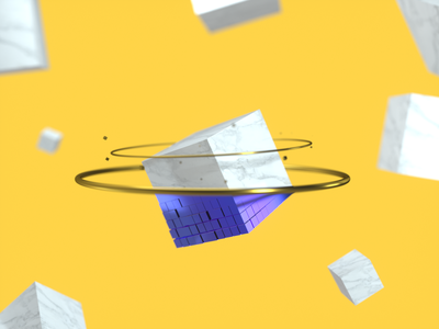 Digital Transformation transformation digital abstract render c4d animation 3d design