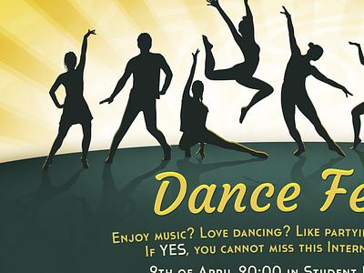 Dance Fever poster dance