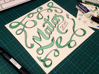 Hand Lettering Matas