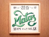 Hand Lettering Matas v2