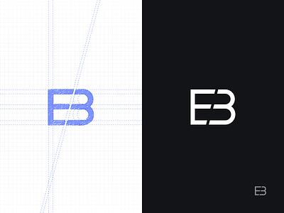 Personal Logo 2.0 minimalistic minimal simple redesign design branding brand eb personal mark logo