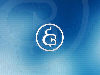 Personal logo E.B. logo visual identity personal brand