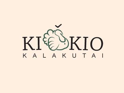 KIŠKIO KALAKUTAI logo visual identity turkeys farm lithuania