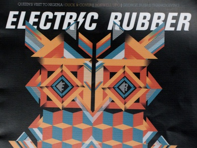Electric Rubber Publication