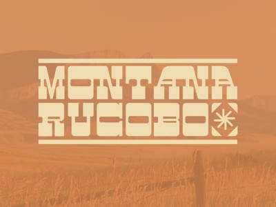 Montana Slab Serif usa united states country slab serif serif slab branding montana texas western logo typeface lettering letter font