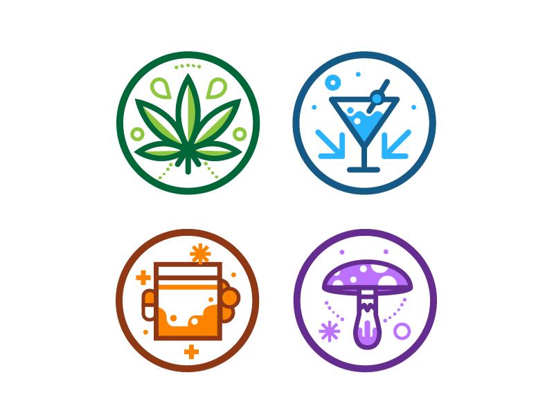Drug Icons By Lane Kinkade Dribbble