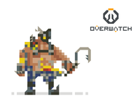 Pixel Roadhog