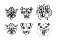 Kitties | Warmup sketches