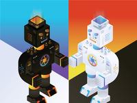 Weekly Warmup | Isometric Robot