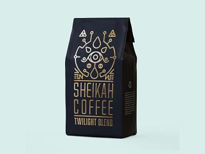 Weekly Warmup - Sheikah Coffee botw sheikah coffee packaging design link