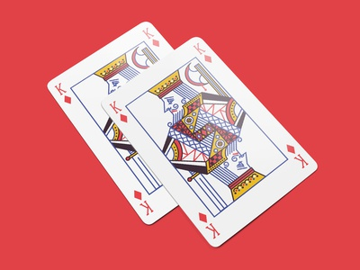 Weekly Warmup | Playing Card | King of Diamonds