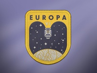 Europa VI Space Mission Patch