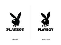 Playboy Logo Redesign