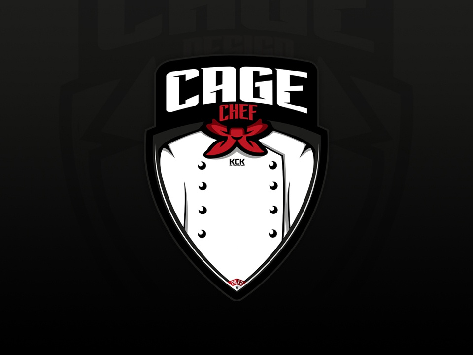New personal identity | Chef Cage personal branding personal identity logodesign chef logo branding vector design illustration logo