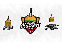 Build up Burger Logo