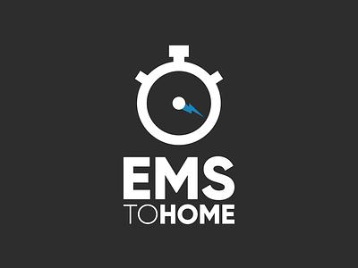 EMS Logo Design logo vector graphic design designer design branding