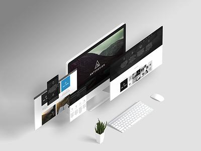 ANTODESIGN New Website Launched webdesign website graphic design designer design