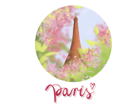 When soul wants spring and Paris🥰
