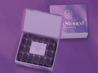 Get Stoned - Crystal store branding #1 logo design pattern crystals box packaging brand brand design logos vector ui branding logo graphic design 3d artwork digital illustration digital art art illustration design