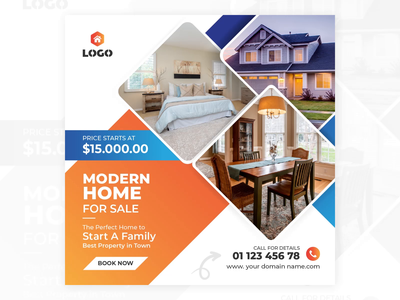 Animated Social Media Design social media real estate animated gif banner design banner ad animated