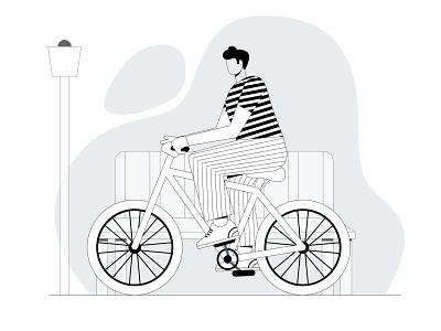Cycling Illustration Design illustration art illustration cycling