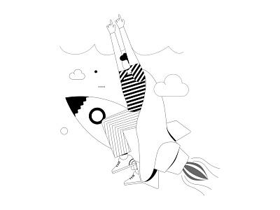 Start up Illustration Design illustraion startup