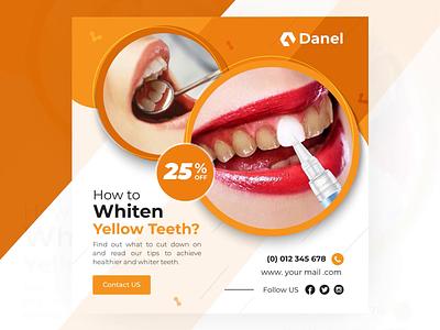 Dental Care Animated Banner Design black friday offer animatedgif banner dental logo dental website design dental clinic dental care