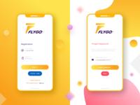 Flygo Sign Up Page Design
