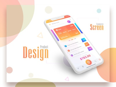 Ecommerce Payment Screen Design payment screen design ecommerce apps screen design vector ui branding design app ecommerce apps screen apps design