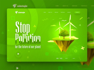Pollution Free Header Image