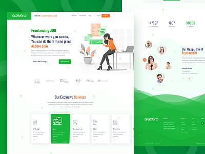 Freelance website design ux design branding apps design