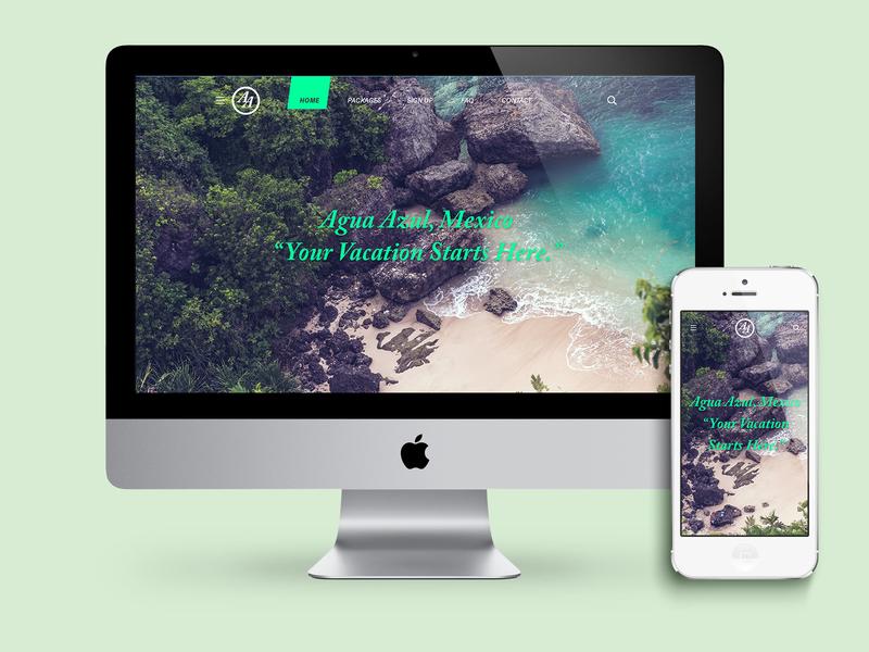 Agua Azul Vacation Site