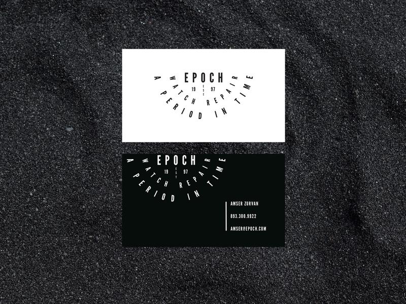 Epoch Business Cards