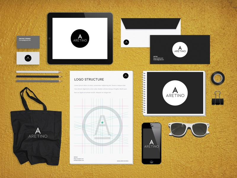 Aretino Branding Pack