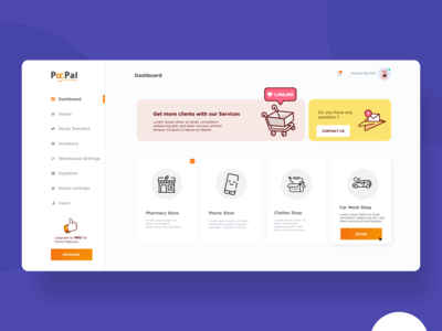 Dashboard ; Shopping Platform
